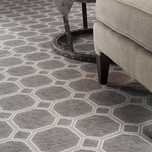 """The """"Delicate Frame"""" design is a thoughtful blend of pattern, texture and color."""
